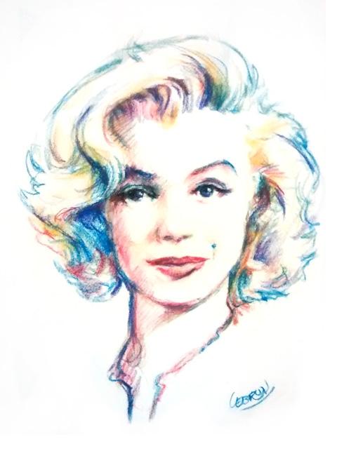 Marilyn Monroe by Lebrun